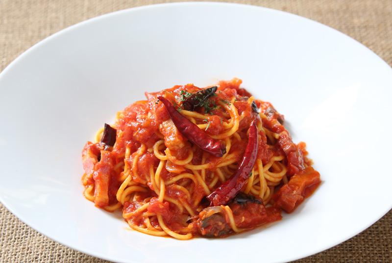 アラビアータ・スパゲッティ Spaghetti Arrabbiata