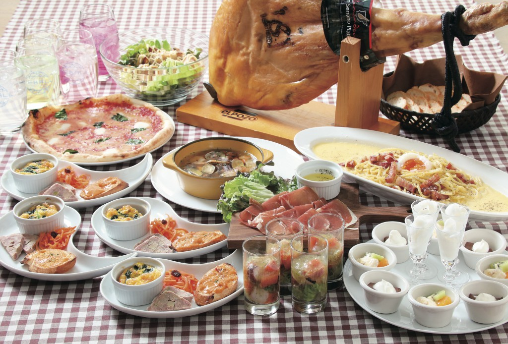 大皿料理プラン・お好きなメニューをお選び頂けます